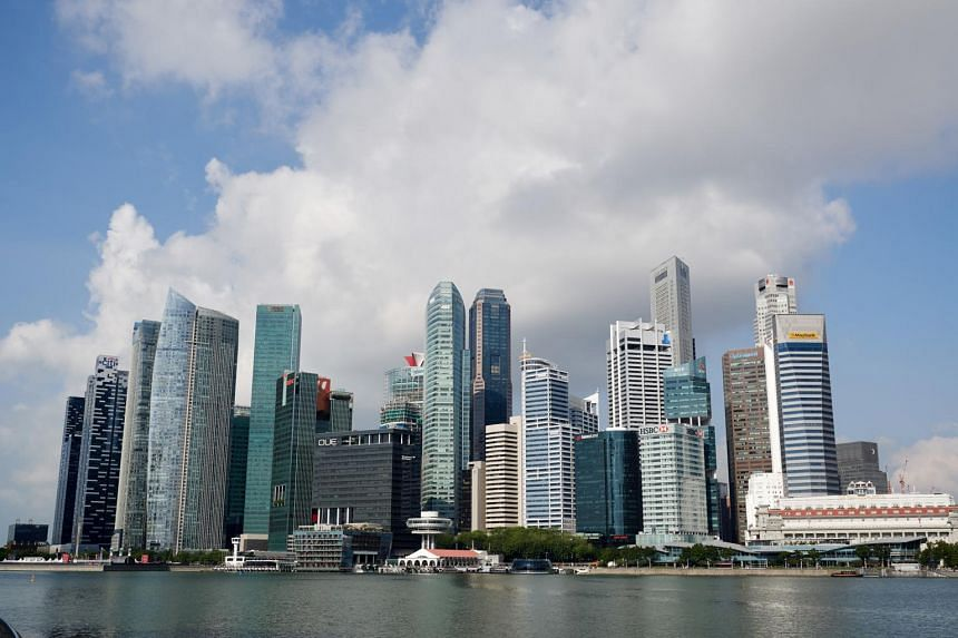 Overall, the Singapore economy grew by 3.3 per cent for the whole of 2018, down from 2017's 3.6 per cent.