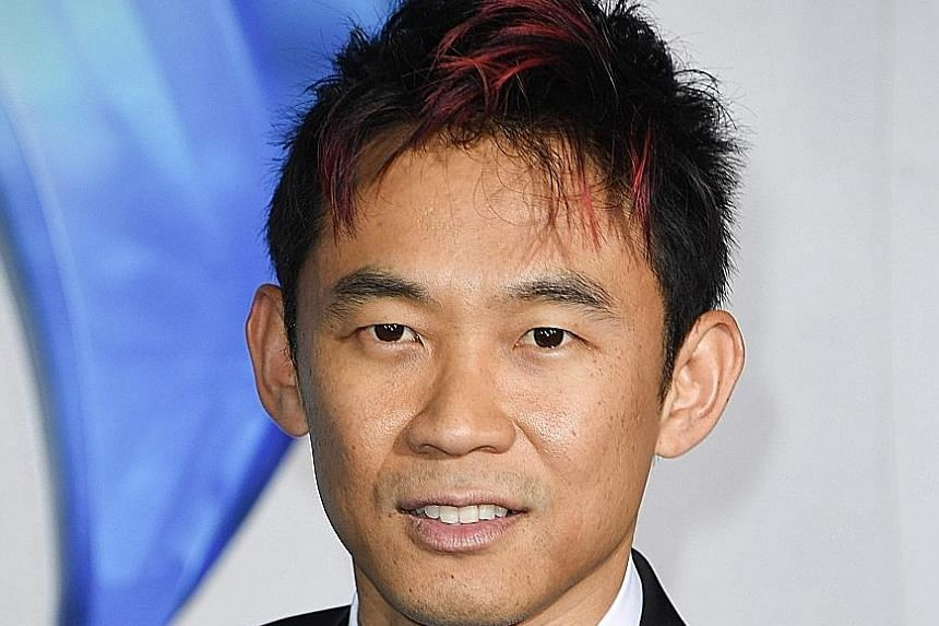 AQUAMAN DIRECTOR JAMES WAN