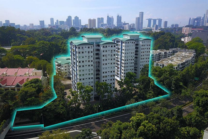Cavenagh Gardens comprises three blocks of 172 apartments, spanning 128,255 sq ft with a gross plot ratio of 2.1.