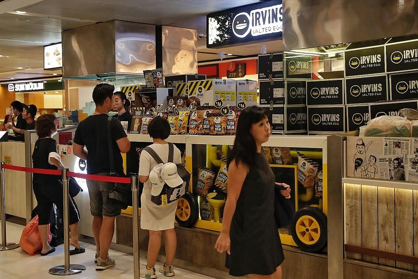 Some experts reckon founder Irvin Gunawan's apology - in the form of a statement posted on Irvins' Facebook and Instagram accounts on Wednesday - would help repair the damage done to the brand's reputation. The Irvins Salted Egg stall in VivoCity yes