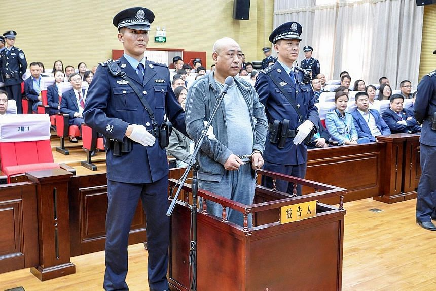 After evading arrest for 28 years, Gao Chengyong was found guilty last March by the Baiyin City Intermediate People's Court. He had robbed, raped and murdered 11 women and girls between 1988 and 2002.