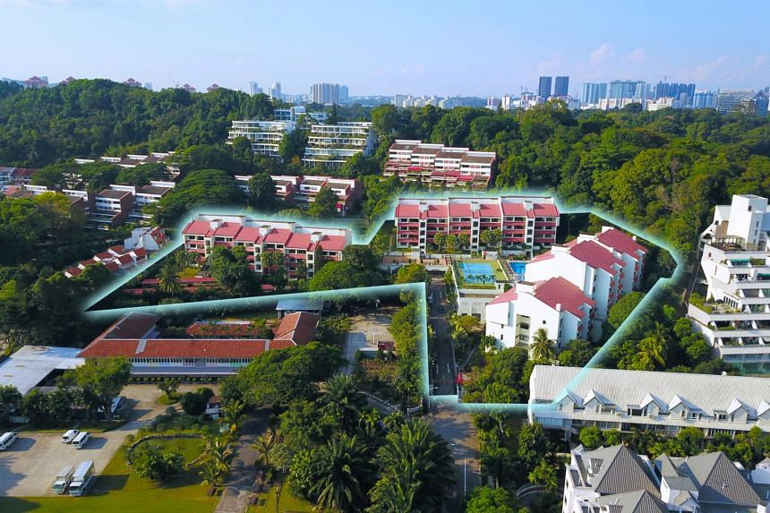 The freehold 72-unit Flynn Park, which is off Pasir Panjang Road, has a minimum price of $363.8 million.