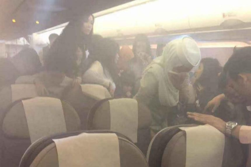 A power bank reportedly exploded on a Royal Brunei Airlines flight on Jan 3, 2019.
