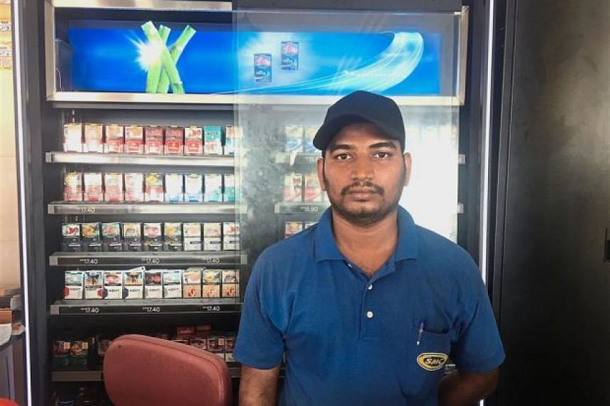 Mr M. Selvam was merely doing his job in reminding customers of the newly imposed smoking ban when one of the customers slapped him and another scolded him.