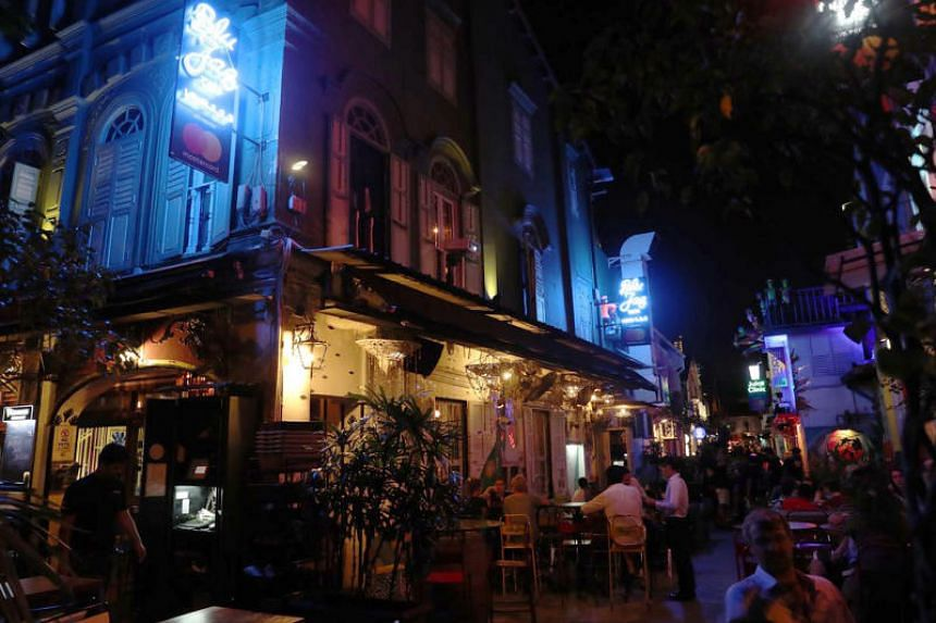 The three-storey Blu Jaz Cafe in Bali Lane, which has been around for 13 years, will still be allowed to operate its cafe, but it will not be able to provide any form of public entertainment from Feb 1, 2019.