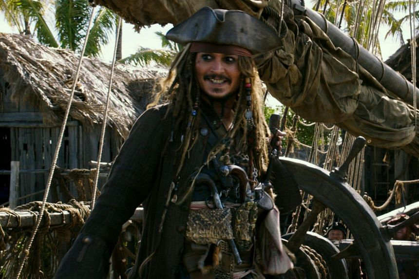 Actor Johnny Depp has been dropped from a planned reboot of the series. He reportedly received up to US$128 million in the fifth instalment, Dead Men Tell No Tales.