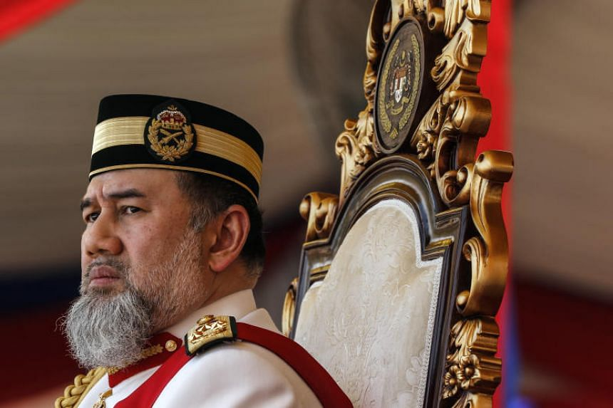 Sultan Muhammad V has been rumoured on social media to be abdicating his position. He had been on leave for two months up to Dec 31. He was proclaimed Malaysia's 15th king in December 2016 for a term of five years.