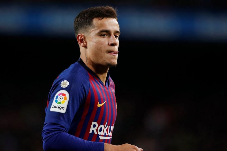 Coutinho (above) is the third most expensive player in the world behind PSG's Neymar and Kylian Mbappe.