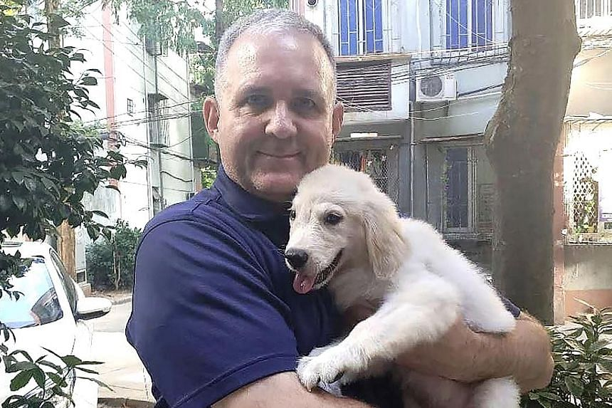 Paul Whelan has been visiting Russia since at least 2006. He was arrested on his latest trip, last month, when he attended a friend's wedding.
