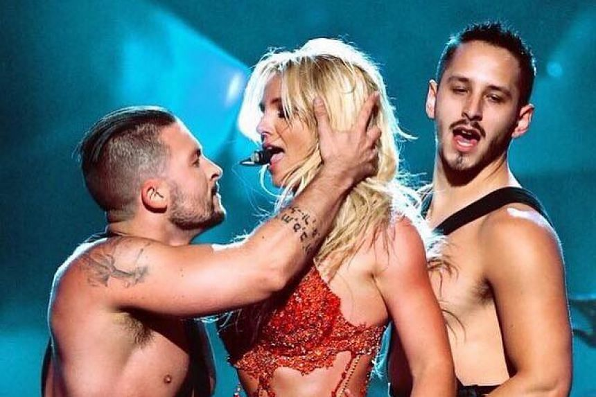 Britney Spears in a photo from her Facebook page.