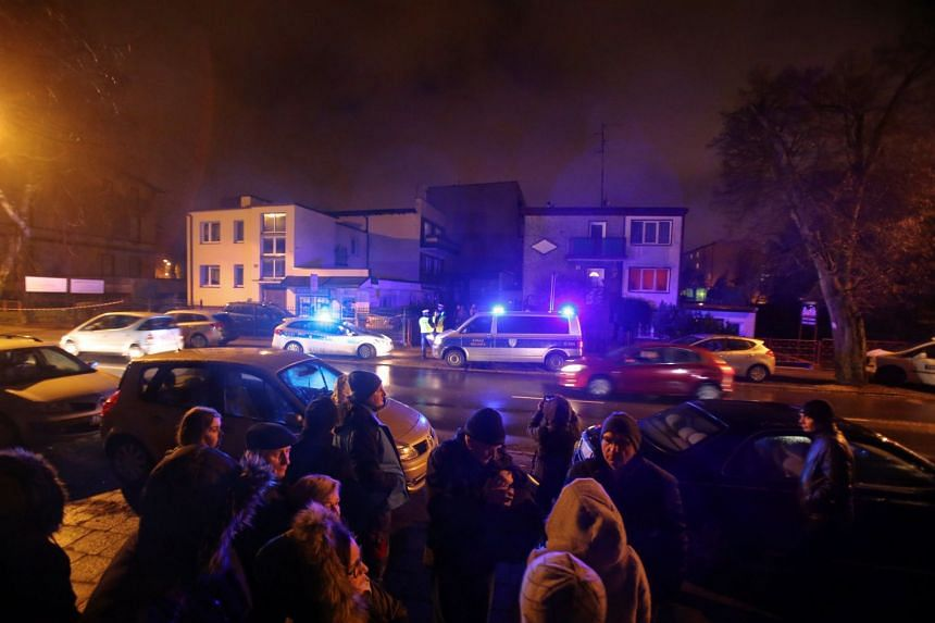 Polish authorities say they do not yet know what started the blaze in the escape room, which was reported in the early evening.