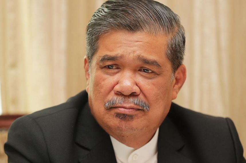 Malaysia's Defence Minister Mohamad Sabu (above) confirmed local media reports that his son was arrested in an anti-vice raid on Jan 5, 2018.