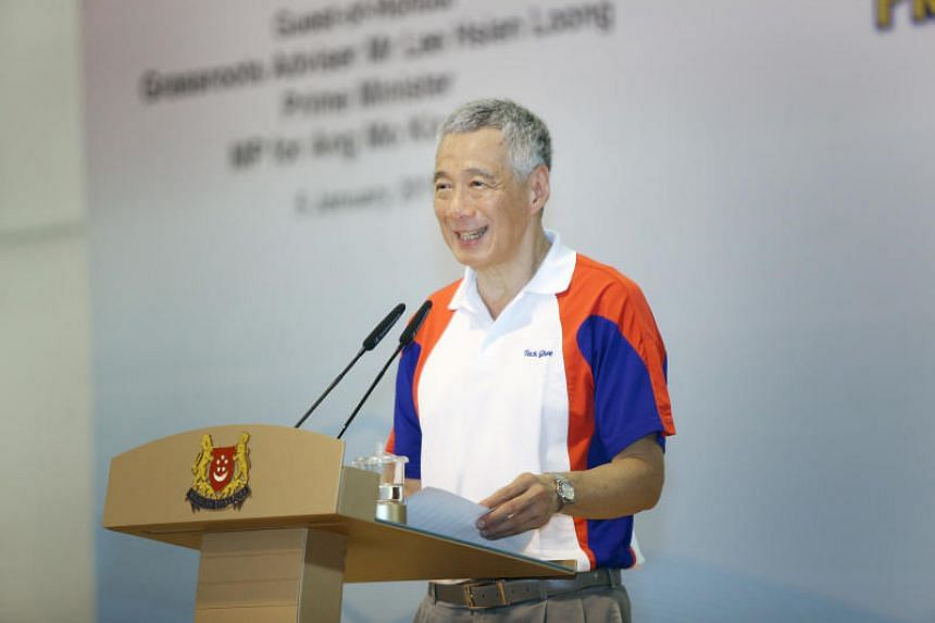 """Singaporeans need to have """"intangible but essential values"""", said Prime Minister Lee Hsien Loong."""