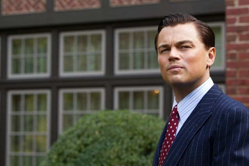 Leonardo DiCaprio in a promotional picture for the movie The Wolf Of Wall Street.