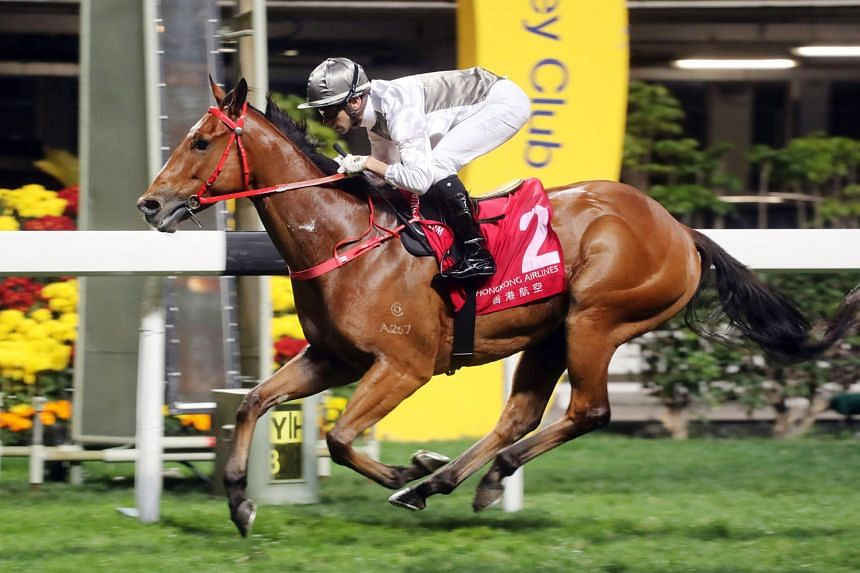 Ivictory can be very hard to hold out if he can track the speed in Race 3 at Sha Tin tomorrow.