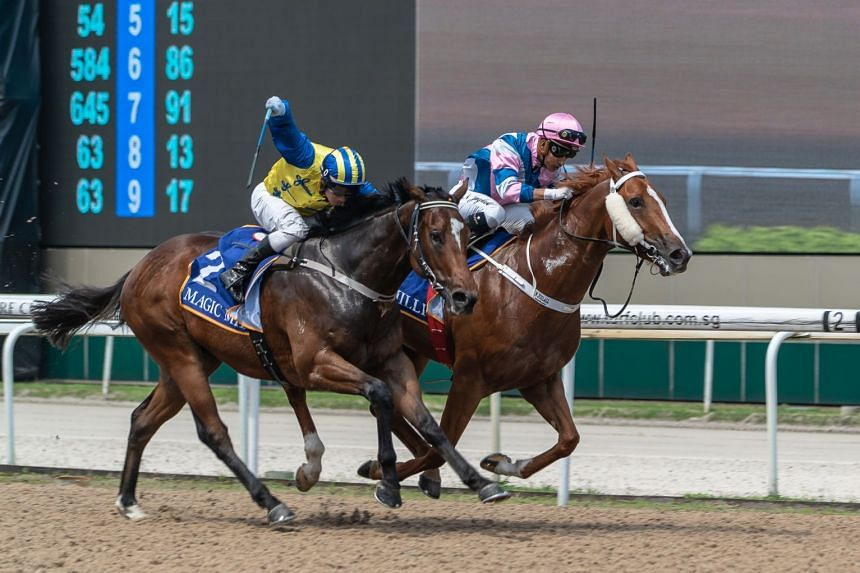 Pennywise showed fighting spirit to get up on the inside to beat Autumn Assault in June last year.