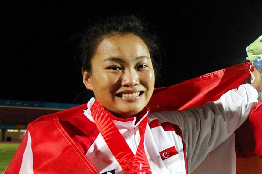 Wan Lay Chi's career high was winning the shot put silver for Singapore behind compatriot Zhang Guirong at the 2011 SEA Games.