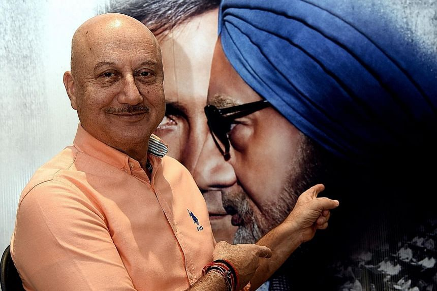 Actor Anupam Kher during a promotional event last month for the film The Accidental Prime Minister, in which he plays former premier Manmohan Singh.