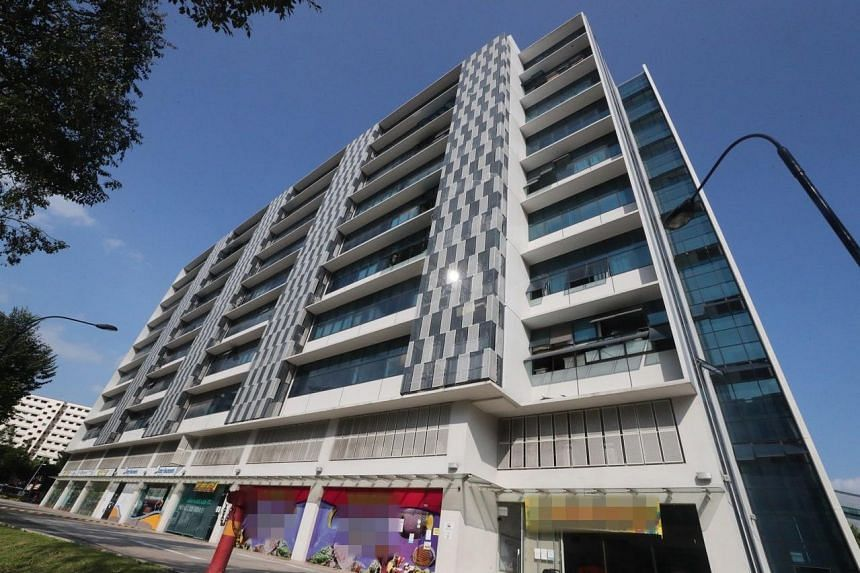 A five-year-old who was accidentally locked inside his parents' Woodlands Close office unit fell eight storeys to his death after attempting to escape from the window, on Jan 5, 2019.