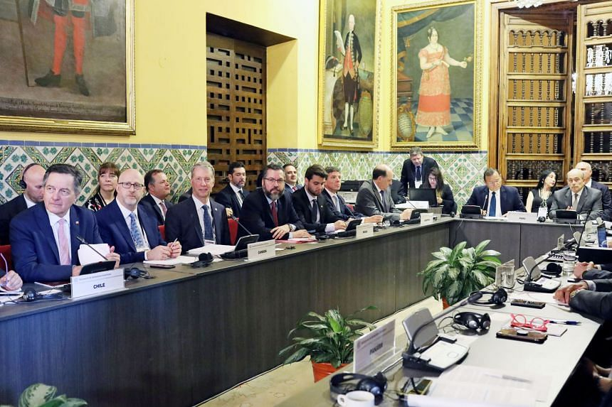 Foreign ministers from 12 Latin American countries and Canada meeting in Lima last Friday said their governments will not accept Mr Nicolas Maduro as Venezuela's President when he is sworn in this week.