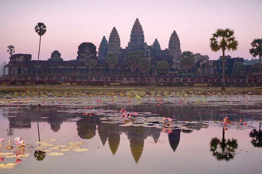 Cambodia's Angkor Wat began as a Hindu temple but by the 12th century had become a Buddhist one.