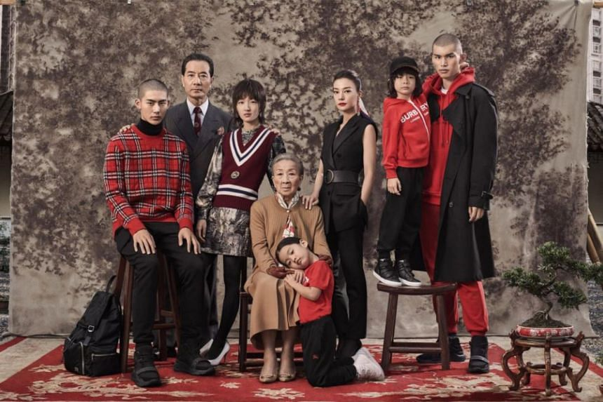 "A Burberry advertising campaign fronted by Chinese actresses Zhao Wei and Zhou Dongyu to usher in the Chinese New Year has been ridiculed as ""creepy"" on social media."