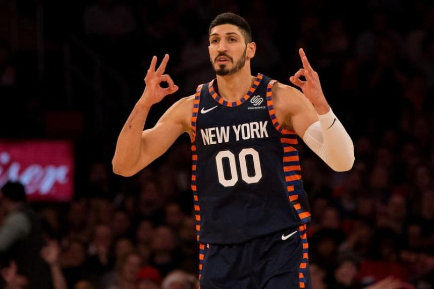 New York Knicks centre Enes Kanter will not be travelling with the team to England, over fears that Turkish operatives might kill him.