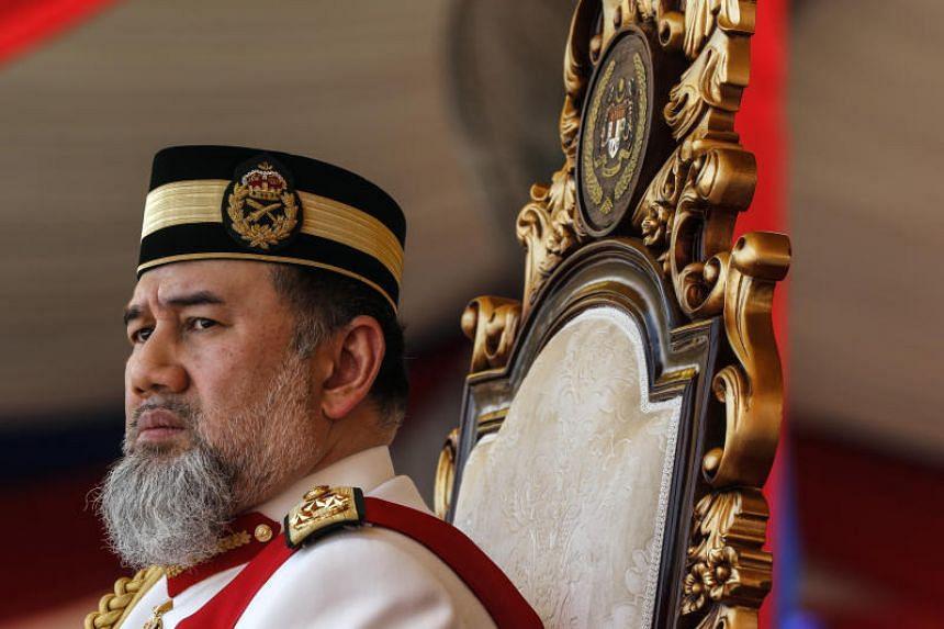Sultan Muhammad V of Kelantan has stepped down as the 15th Yang di-Pertuan Agong, with his resignation effective on Jan 6, 2019.