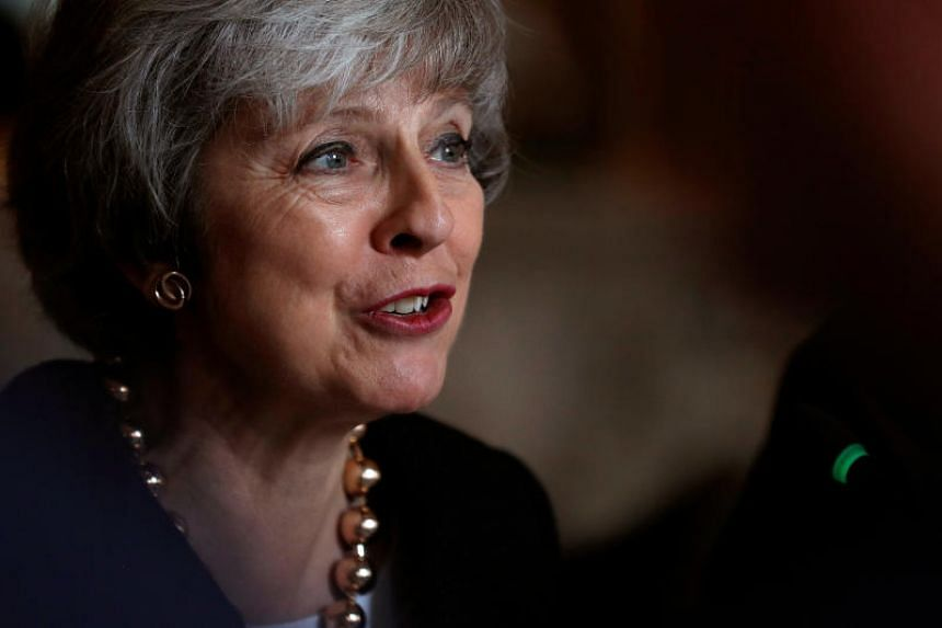 British PM Theresa May also wrote a newspaper column on Sunday seeking to sway the opinions of rebel lawmakers.