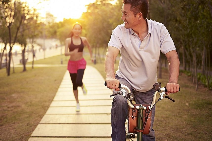 Cycling and running at moderate intensities are probably more effective for weight loss than exercising at low intensities because more calories are burned, say exercise coaches.