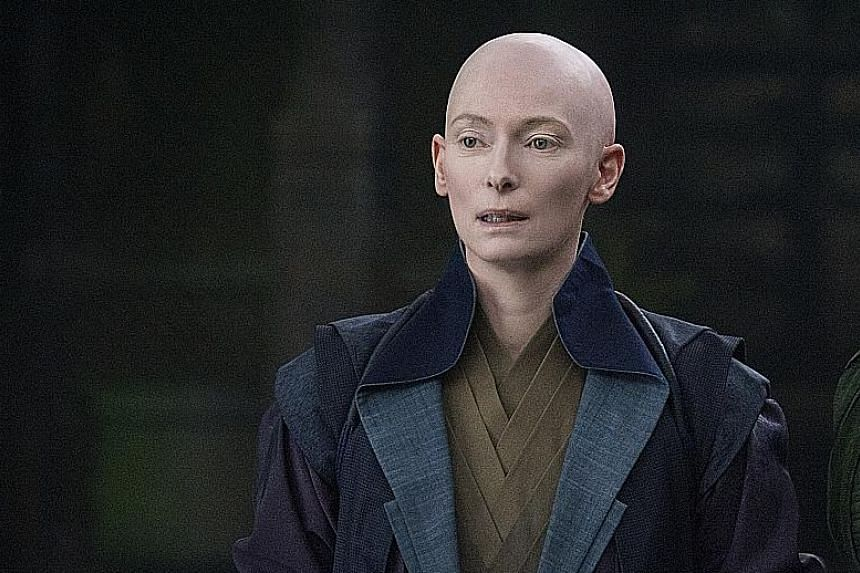 The Ancient One, introduced by Marvel Comics in the 1960s, was portrayed as an elderly Tibetan man. But in the 2016 movie, Doctor Strange, the character was played by white actress Tilda Swinton (above).