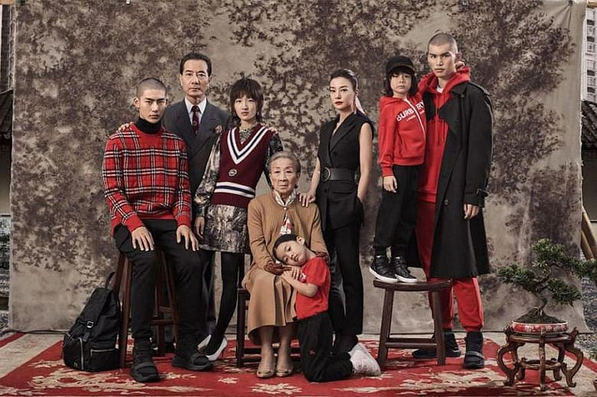 Burberry's Chinese New Year ad campaign featuring unsmiling models draws brickbats and some applause from netizens.