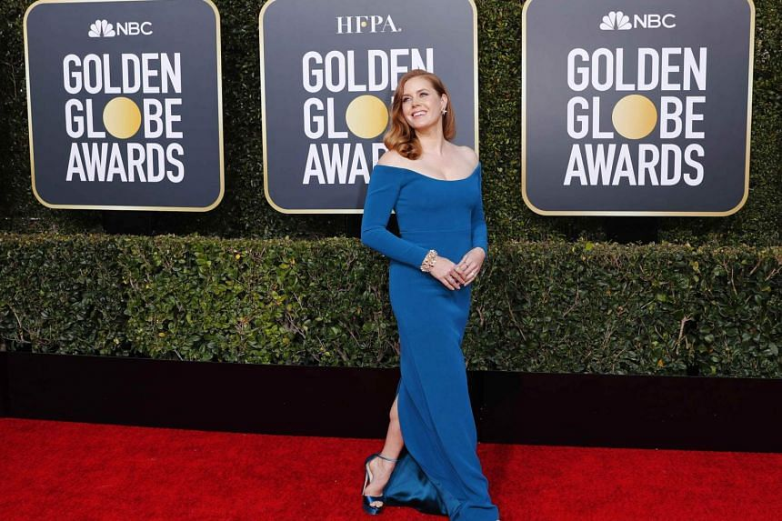 Actress Amy Adams arriving at the 76th Annual Golden Globe Awards at The Beverly Hilton Hotel, on Jan 6, 2019.