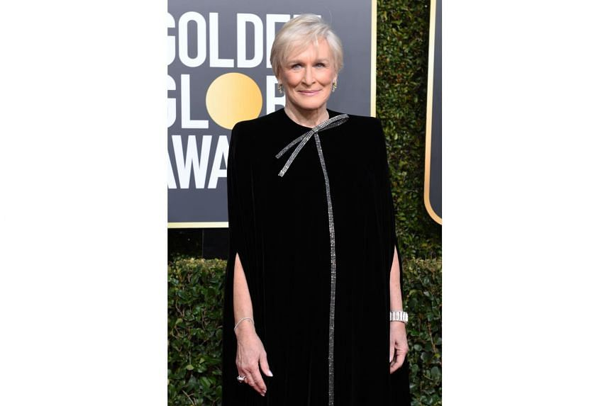Actress Glenn Close arriving at the 76th Annual Golden Globe Awards at The Beverly Hilton Hotel, on Jan 6, 2019.