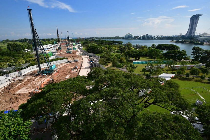 The Founders' Memorial will be located at a 5ha site in Bay East Garden in the Marina Bay area.