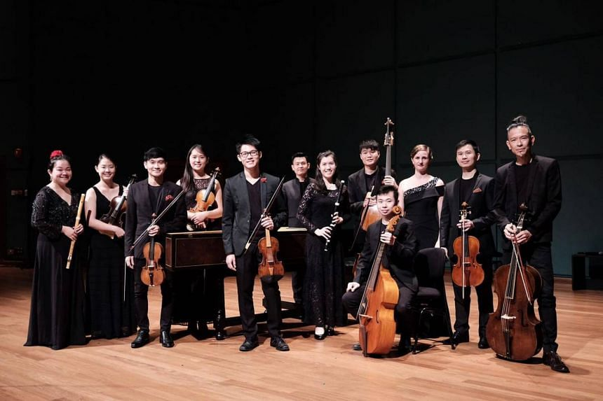 The 12-member ensemble led by home-grown violinist Alan Choo gave a 90-minute concert performed without intermission.