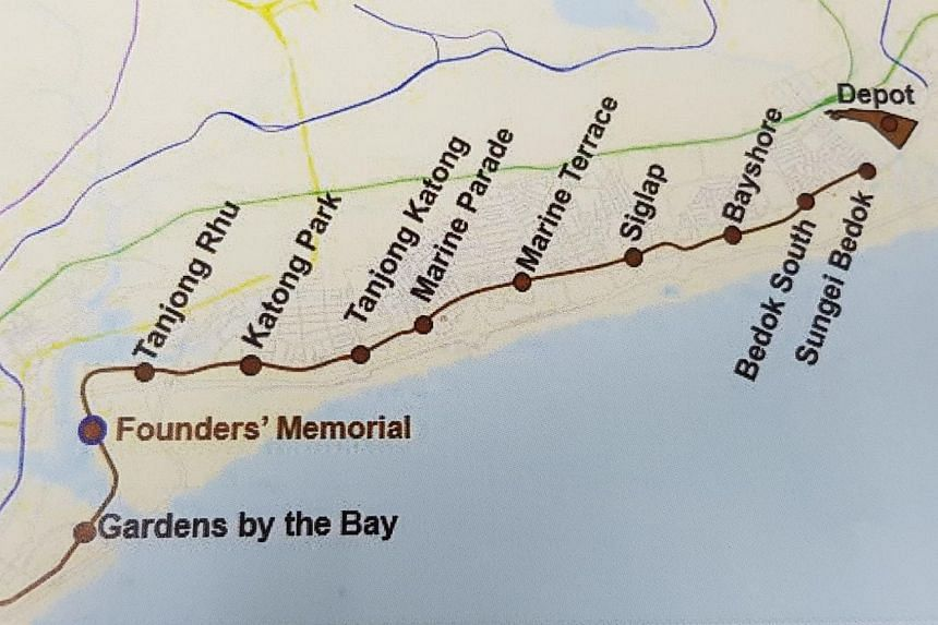 The Founders' Memorial station will be built next to the Founders' Memorial. Provisions for a station were already in place, but the station was not announced earlier because plans for the memorial were confirmed only in 2017.