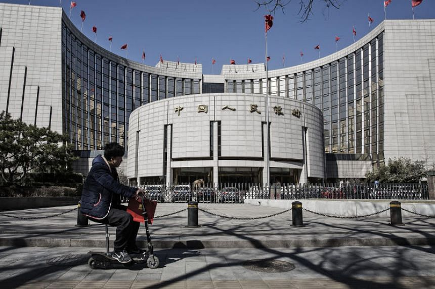 The People's Bank of China on Jan 4, 2019, announced another cut to the amount of cash lenders must hold as reserves in a move to release a net 800 billion yuan (S$158.4 billion) of liquidity.