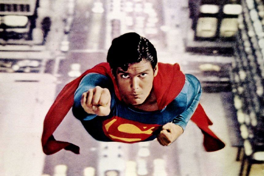 Christopher Reeve starred in Superman: The Movie, which celebrated the 40th anniversary of its opening last month.