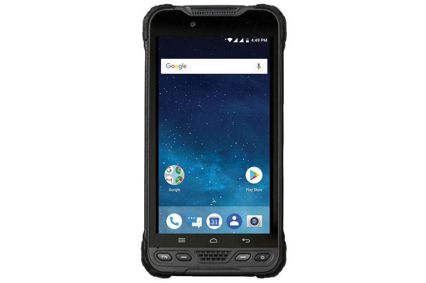 The rugged smartphone is heavily protected, with a water resistance rating of IP68, able to withstand drops from a height of 1.5m and can be function in conditions up to 60 degrees Celsius.