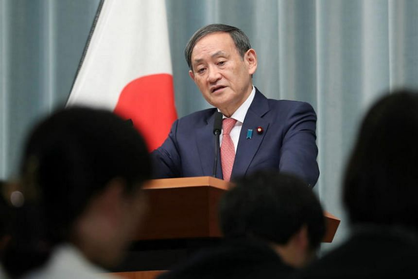 """Japanese Chief Cabinet Secretary Yoshihide Suga called recent moves by Seoul """"regrettable."""""""