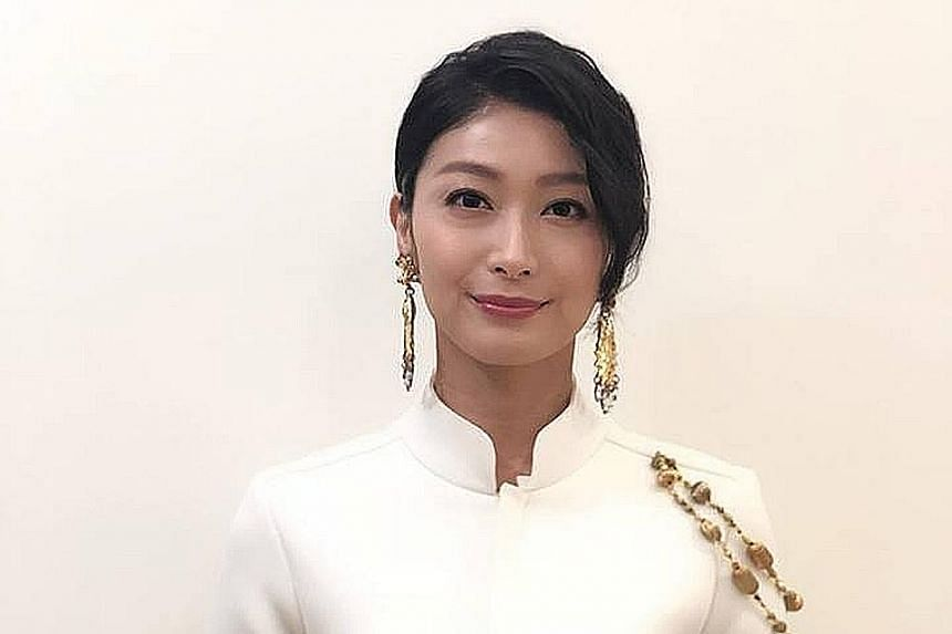 Actress Ke Huan-ru (above) shared on Facebook the inappropriate behaviour of a director widely believed to be Doze Niu (right) on Sunday. Niu was accused of sexually assaulting a female crew member last month.