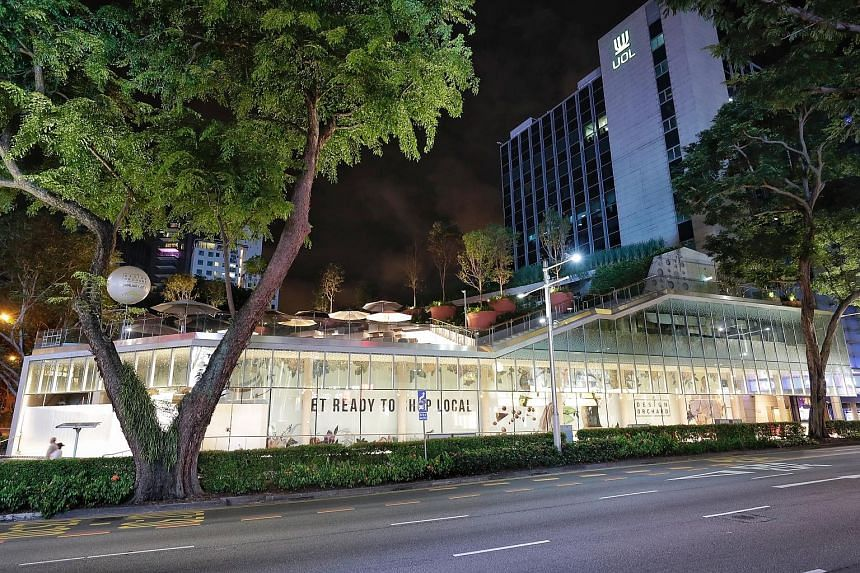 Design Orchard, at the junction of Orchard and Cairnhill roads, will open on Jan 25. The mall will have a retail showcase on the first level, incubation spaces on the second, and a cafe and events space on the rooftop.