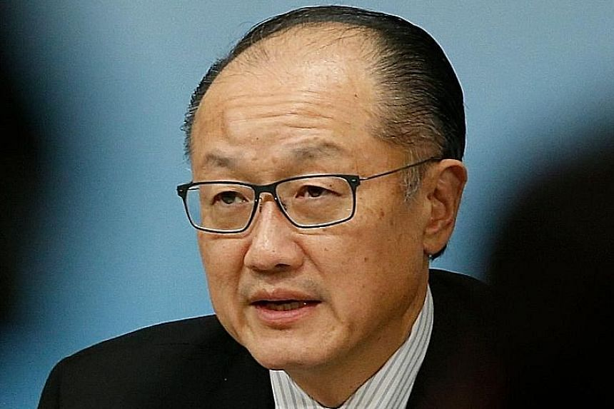 Mr Jim Yong Kim is leaving more than three years before his term is set to expire in 2022.