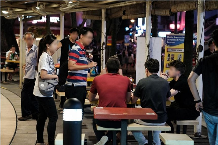 Six public entertainment outlets were found to have flouted licensing conditions during a police operation last month.