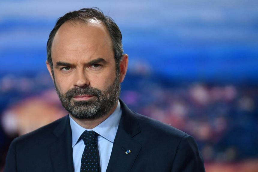 """French Prime Minister Edouard Philippe announced plans to ban known """"troublemakers"""" from taking part in demonstrations."""