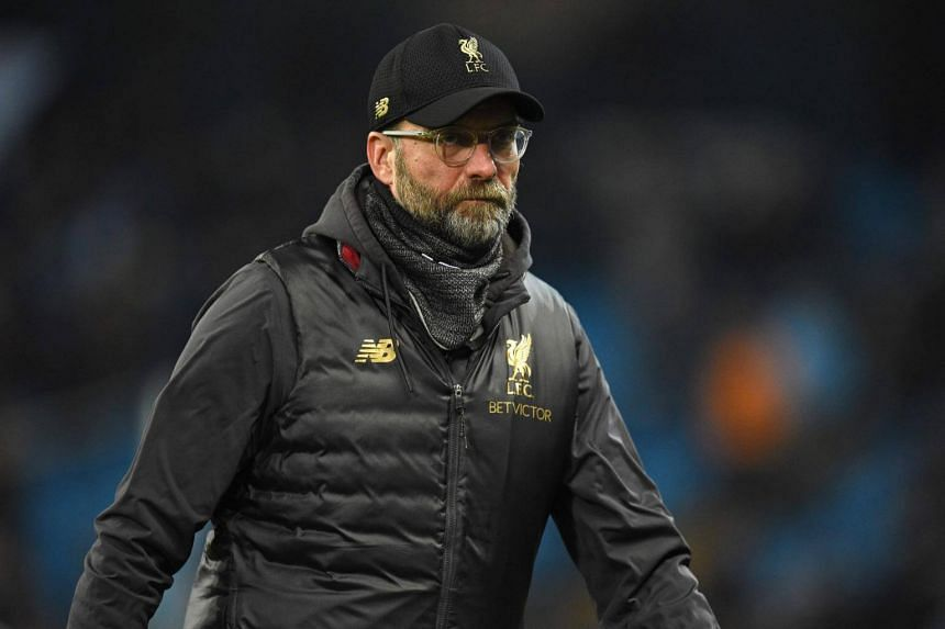 Liverpool manager Jurgen Klopp made nine changes to the side that lost to Manchester City last Thursday.