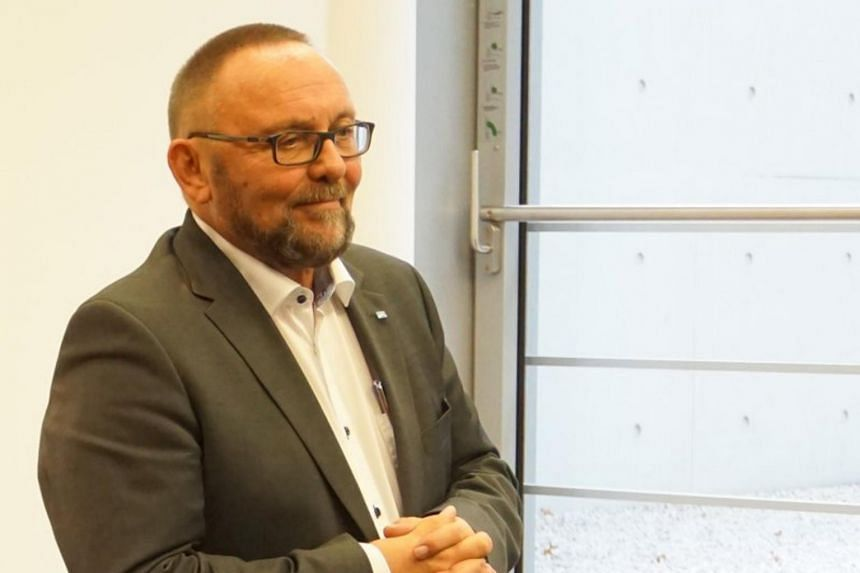 Mr Frank Magnitz, leader in Bremen of the anti-immigration populist party Alternative for Germany, was assaulted in the city centre on Jan 7, 2019.