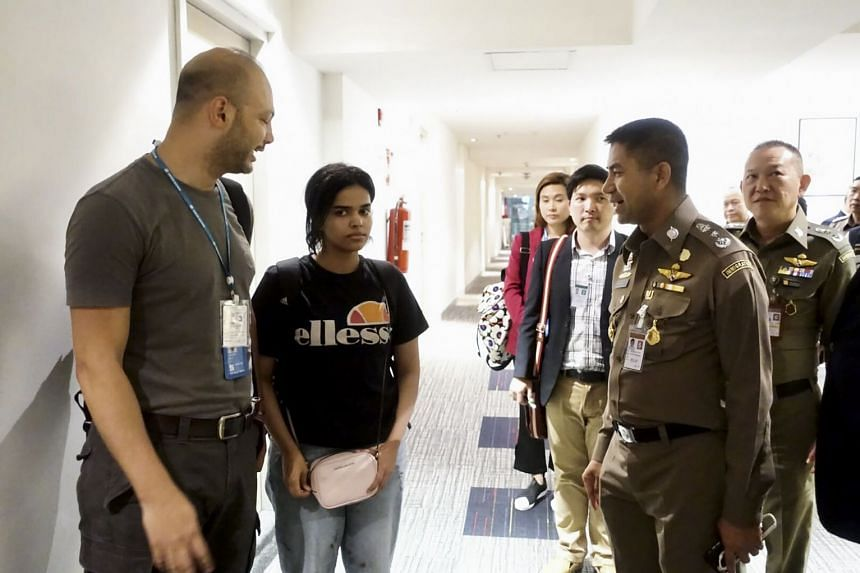 Ms Rahaf Mohammed al-Qunun was denied entry into Thailand on Jan 6, 2019, as she fled from what she said was an abusive family.