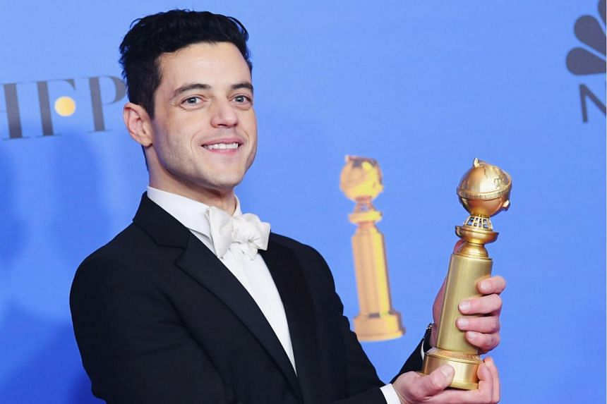 Bohemian Rhapsody lifted the major prizes, with actor Rami Malek winning best actor and the movie bagging best drama.